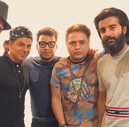 Mehdi Azar Mehdi Hosseini Mano To Booye Baroon Music fa.com دانلود آهنگ مهدی حسینی و مهدی آذر منو تو و بوی بارون