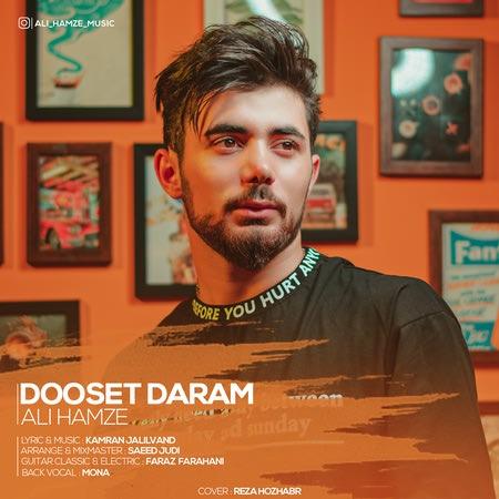 Ali Hamze Dooset Daram Cover Music fa.com دانلود آهنگ علی حمزه دوست دارم