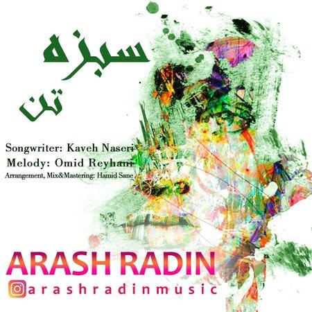 Arash Radin Sabze Tan Cover Music fa.com دانلود آهنگ آرش رادین سبزه تن