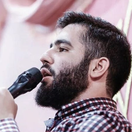 Hossein Taheri Mizane Ghalbam Music fa.com دانلود مداحی میزنه قلبم حسین طاهری