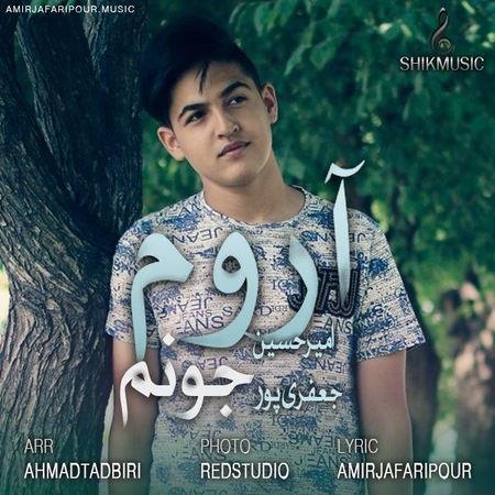 Amirhossein Jafari Aroome Joonam Cover Music fa.com  دانلود آهنگ امیر حسین جعفری پور آروم جونم