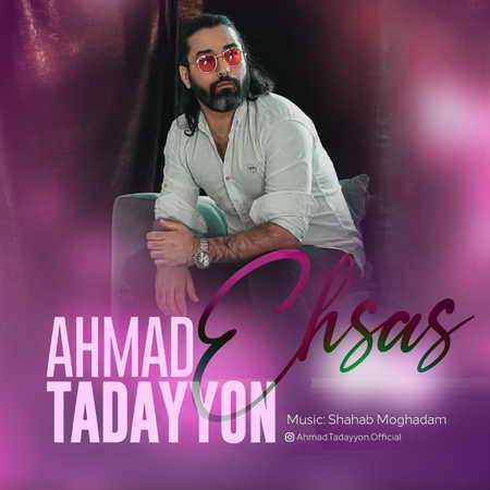 Ahmad Tadayon Ehsas Music fa.com دانلود آهنگ احمد تدین احساس