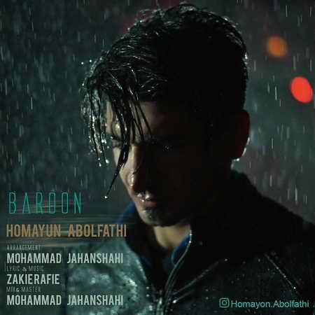 Homayoun Abolfathi Baroon Music fa.com دانلود آهنگ همایون ابوالفتحی بارون