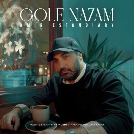 Amir Esfandiari Gole Nazam Music fa.com دانلود آهنگ امیر اسفندیاری گل نازم