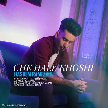 Hashem Ramezani Che Hale Khoshi Music fa.com دانلود آهنگ هاشم رمضانی چه حال خوشی