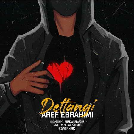 Aref Ebrahimi Deltangi Music fa.com دانلود آهنگ عارف ابراهیمی دلتنگی