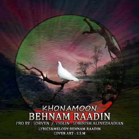 Behnam Radin Khonamon Music fa.com دانلود آهنگ بهنام رادین خونمون
