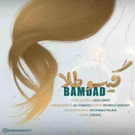 Bamdad Gisoo Tala Music fa.com دانلود آهنگ بامداد گیسو طلا